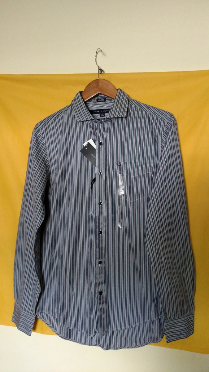 daf2db8b274 Camisas Tommy Hilfiger Caballeros Originales Tallas -s- - Bs. 69.000 ...