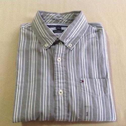camisas tommy hilfiger talla small customfit 100% originales