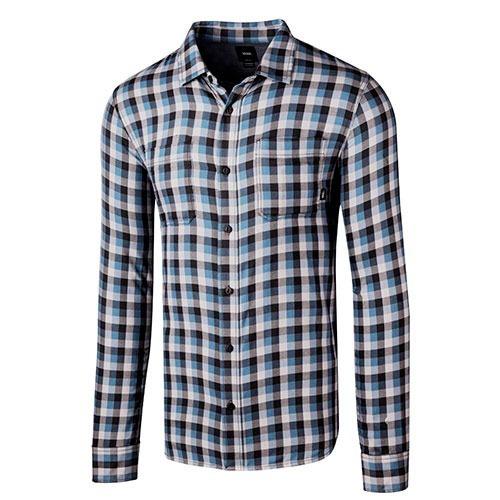camisas vans alameda  vn-0a36hlpf4 marino  pv