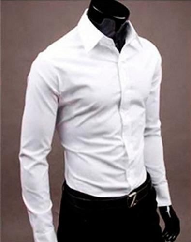 camisas vestir hombre camisas manga larga