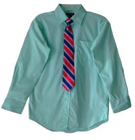 65abf7cbd Camisas Vestir Juvenil Graduación Comunión George Corbata