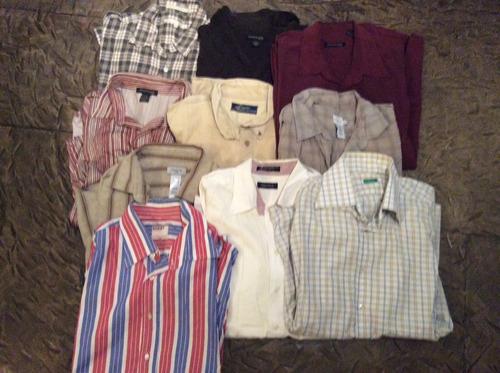 camisas y polos ralph lauren y otros exclusivos talla xl