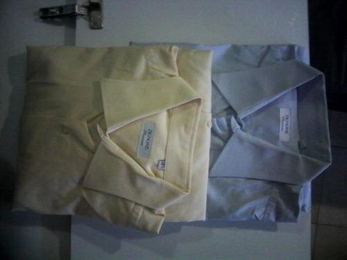 camisas zignone plattinum talla 18 1/2