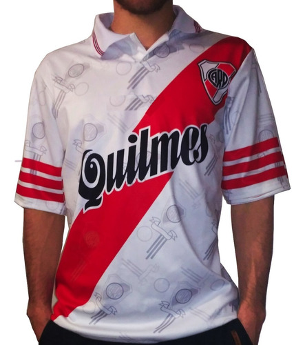 camisera river plate retro campeón 1996