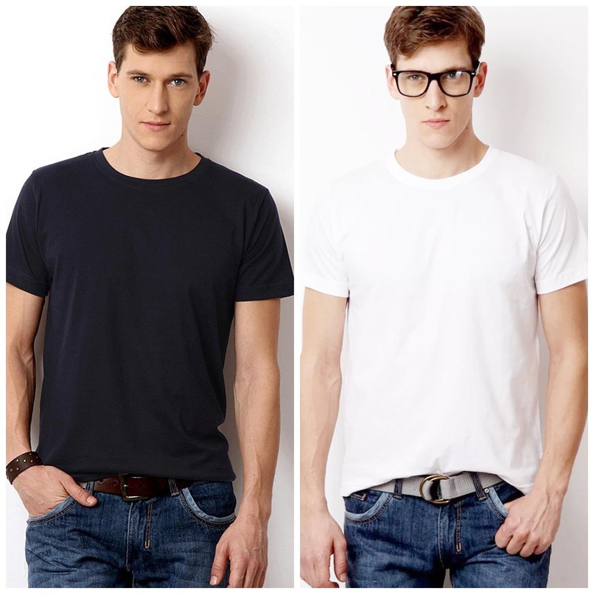 camiseta 100% algodão fio 30.1 penteado gramatura 165 camisa. Carregando  zoom. f5a5e6af724