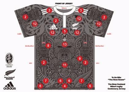 4d4dbcec5 Camiseta 100 Anos Liga Maori Rugby All Blacks - R  179