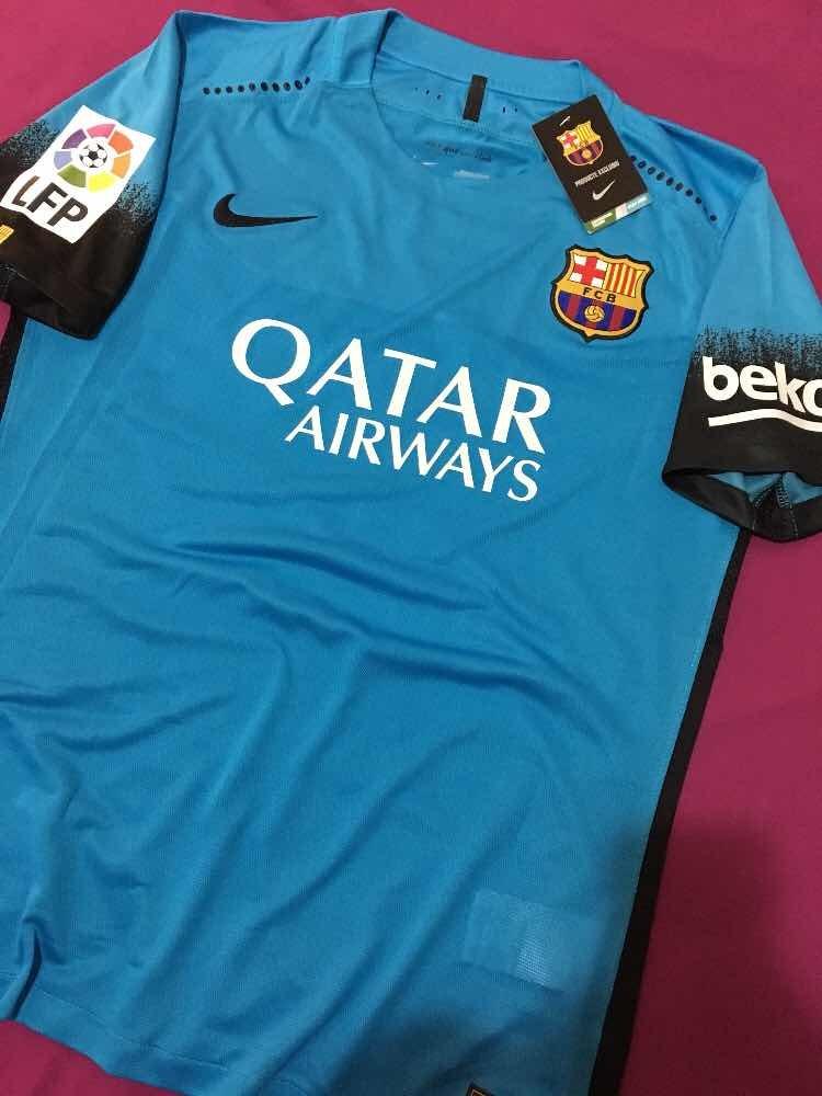0369135ea928e camiseta 100% original fc barcelona 3era equipacion 15 16. Cargando zoom.
