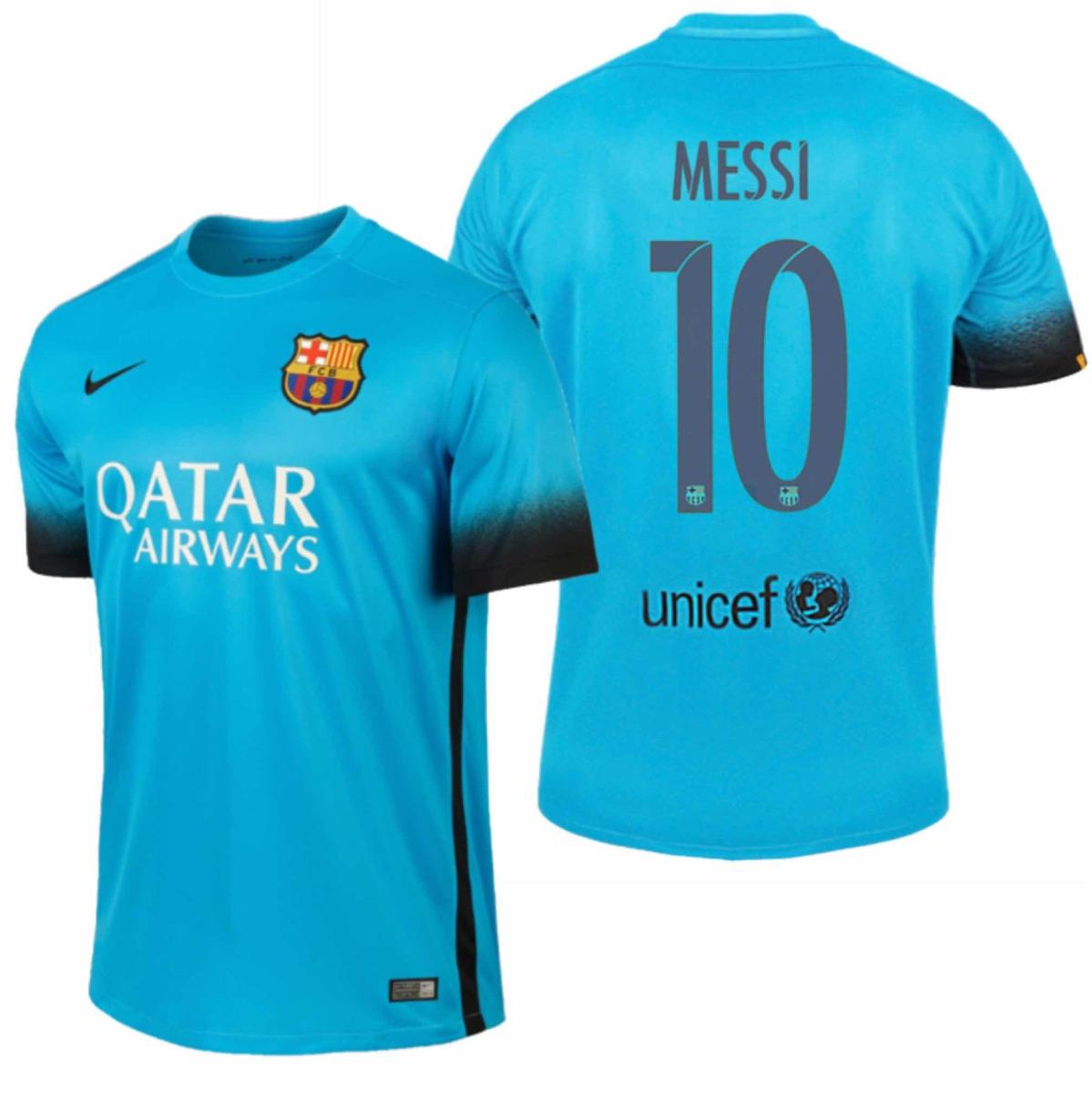 camiseta 100% original fc barcelona 3era equipacion 15 16. Cargando zoom. 71247589eef