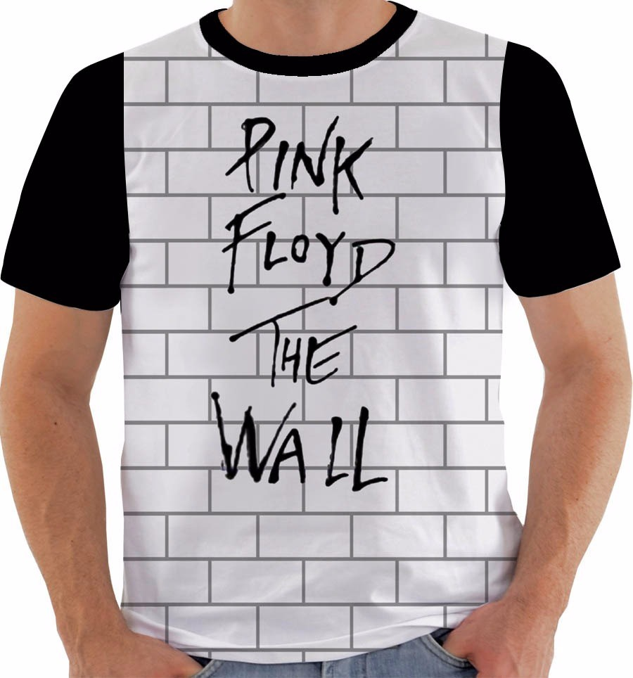 de94aaee0 camiseta 10017 algodao pink floyd the wall original. Carregando zoom.