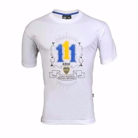 camiseta 111 años una pasión muchas historias - boca juniors