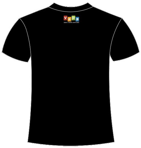 camiseta 16-bit vgdb