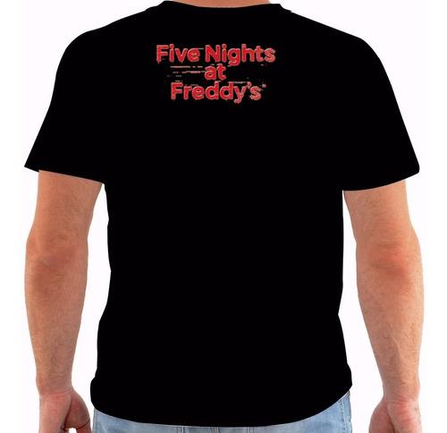 camiseta 1846 five nights at freddy's freddy fazbear 1 cor