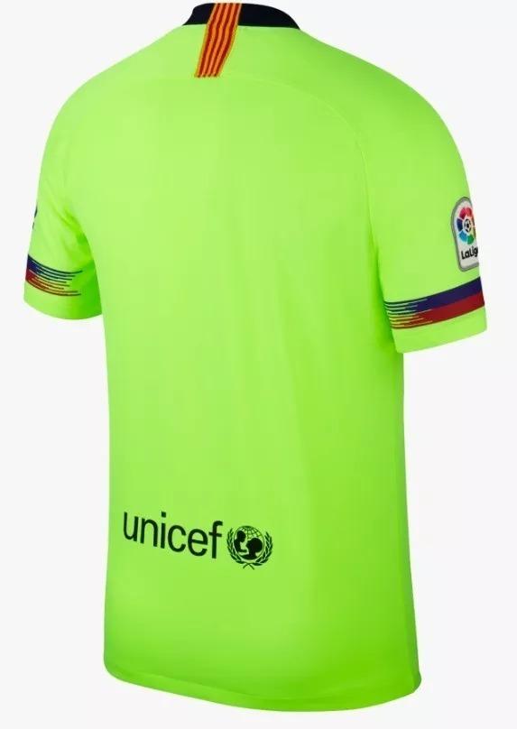 42b78e78122b8 camiseta 2018 19 barcelona sem numero. Carregando zoom.