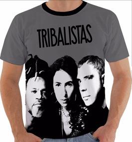 60e186fe22 Camiseta 2192 Tribalistas Mpb Arnaldo Marisa Monte Brown Pb