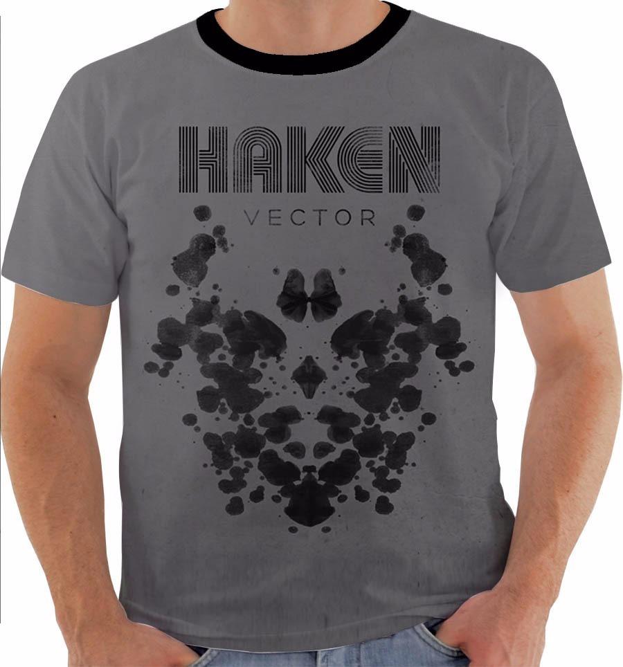 Camiseta 2332 Haken Band Richard Henshall Metal Progressivo R 54