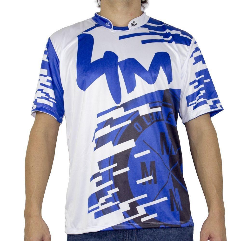 28e5c303af3a3 camiseta 4m time logo azul. Carregando zoom.