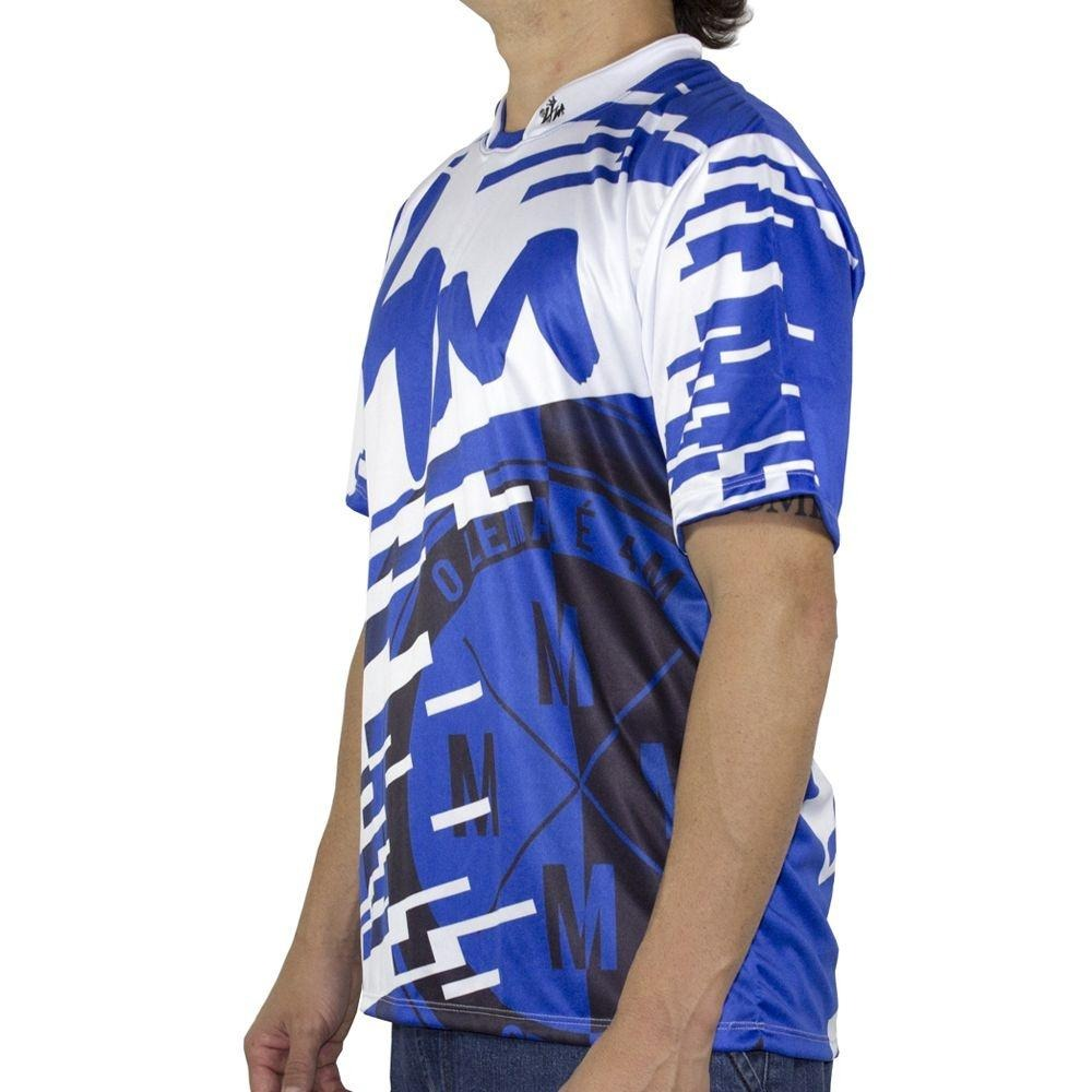 79bf3da9fcfd4 camiseta 4m time logo azul. Carregando zoom.