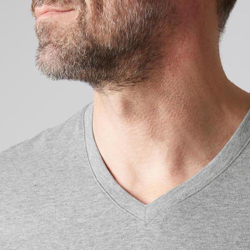 f9d086265f0 Camiseta 500 Cuello De Pico Slim Pilates Y Gimnasia Suave - $ 1.076 ...