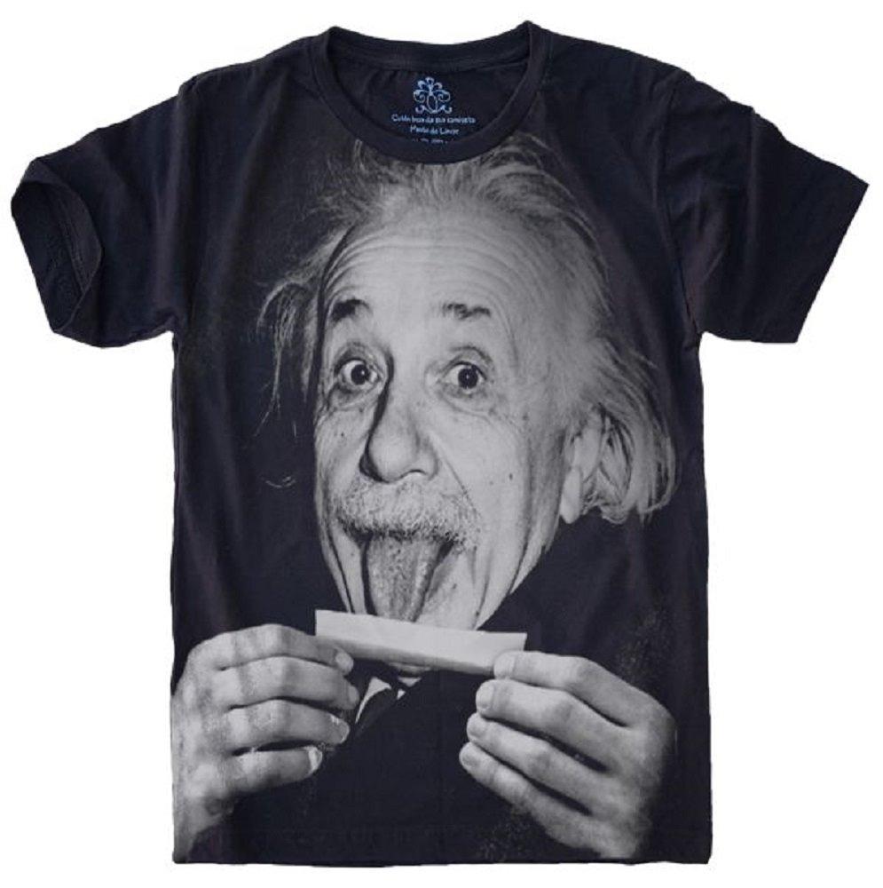 eb49bf0ce camiseta 5%off albert einstein doidão. Carregando zoom.