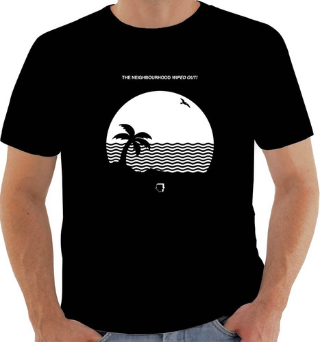 camiseta 6850 disco the neighbourhood wiped out! 2015