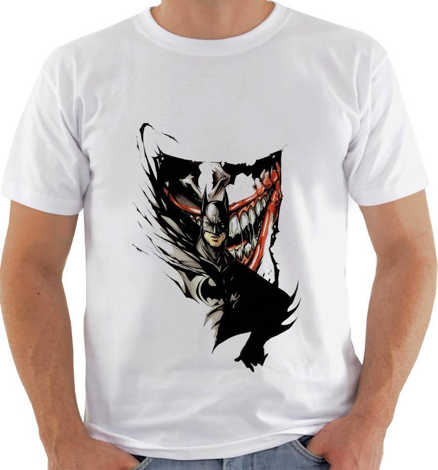 Camiseta 7021 Ou Baby Look Ou Regata Batman Joker - Coringa - R  54 ... eecd9f95ee0