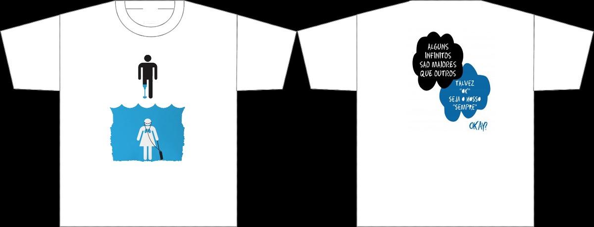 Camiseta A Culpa é Das Estrelas Okay Frases R 3569 Em Mercado