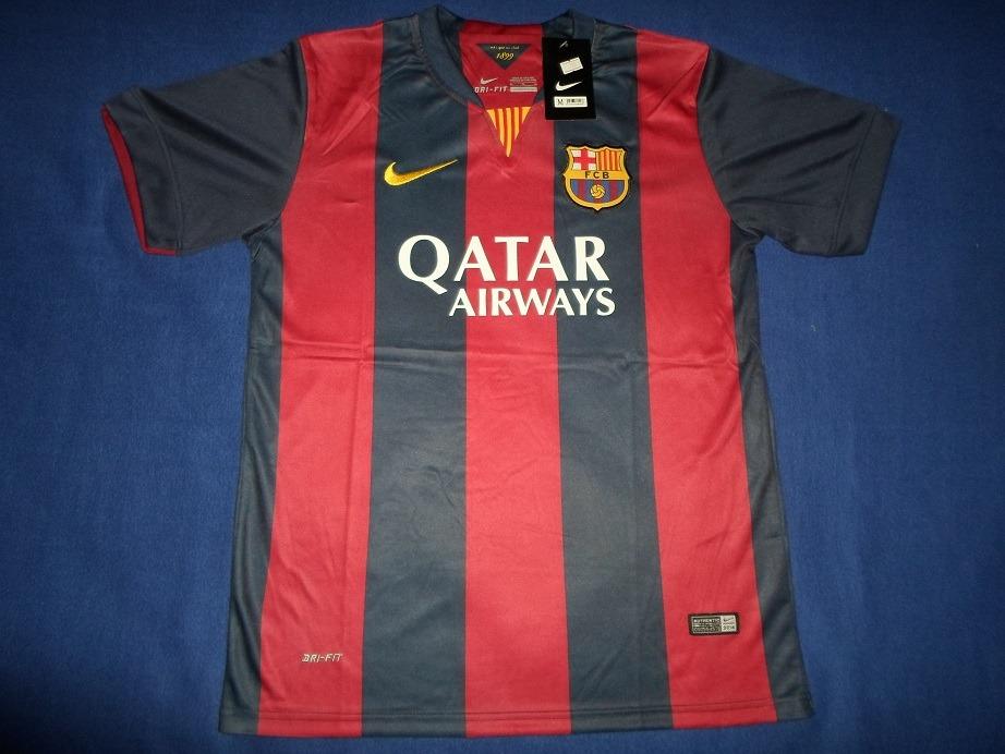 Camiseta A1 2015 Barcelona Sin Dorsal Temporada Triplete