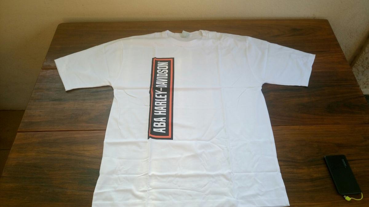 d3f1fd7a084 camiseta aba harley davidson - branca - tamanho gg. Carregando zoom.