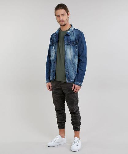 camiseta abercrombie masculina original manga curta bermudas calças shorts jaquetas casacos hollister gap / no brasil