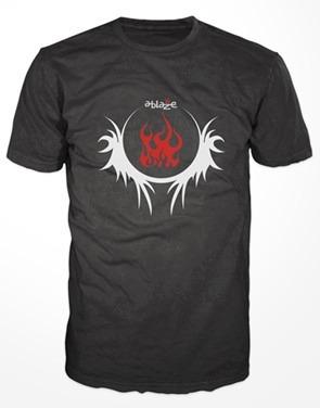camiseta ablaze fightwear