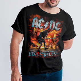 f300893c57 Dc Hells Bells Camiseta Ac no Mercado Livre Brasil