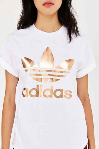 camiseta academia feminina curta logo  t shirt
