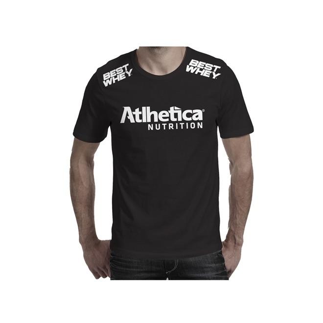 c56c44ca4e48a Camiseta Academia Masculina - Atlhetica  escolha Tamanho  - R  18