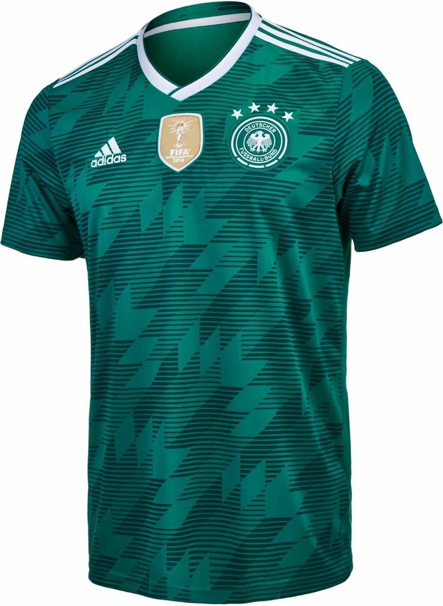 Adidas Camiseta Verde Alemania Futbol Pro Alternativa 4R5qAj3L