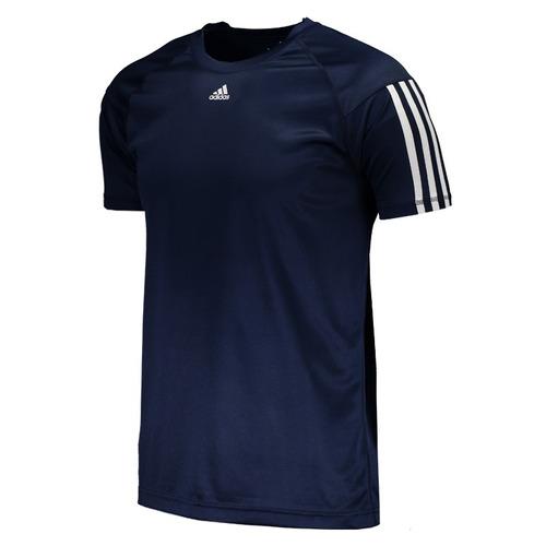 4eae6790500d8 Camiseta adidas Base 3s Marinho - R  54