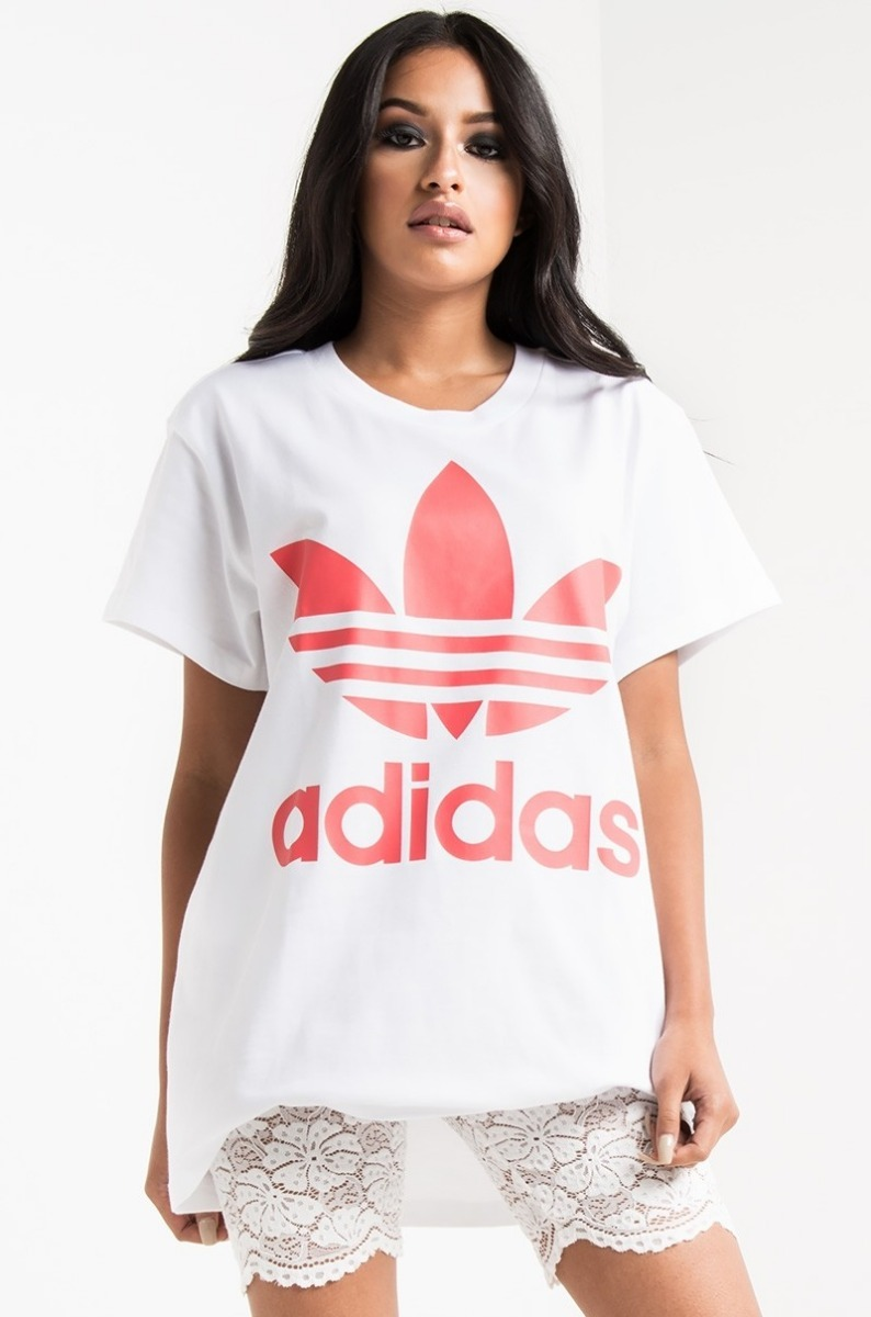 df7d64eea9 camiseta adidas big trefoil tee white turbo. Carregando zoom.
