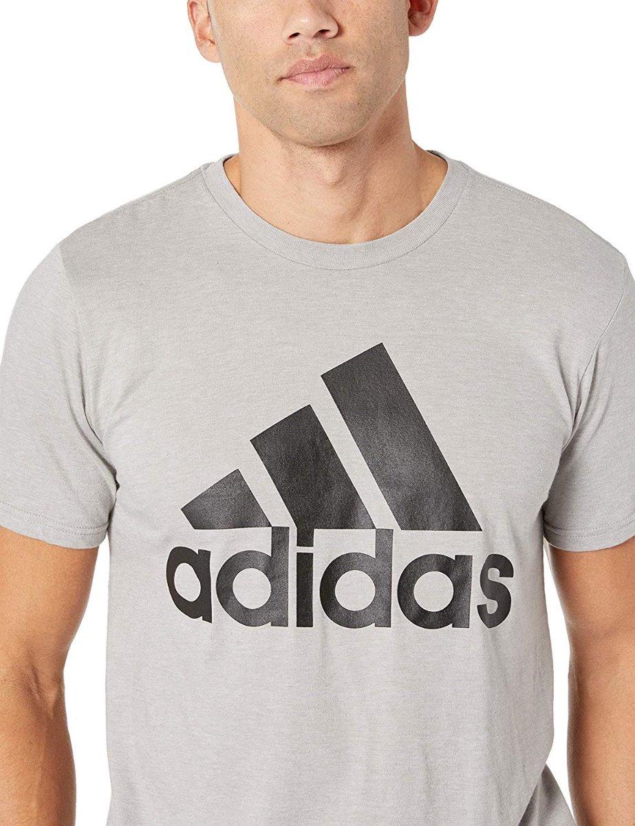 bonito Trendy Camisetas Camisetas Adidas Gris Económico