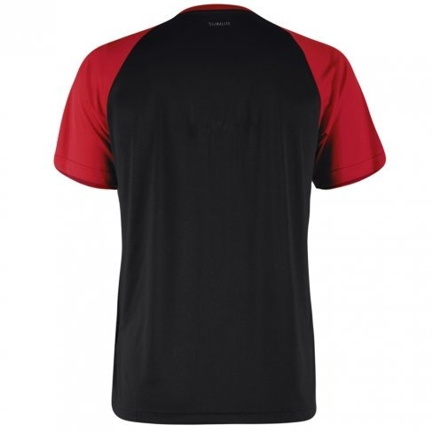b7ea508d04de2 Camiseta adidas Club C b Tee Preto vermelho - R  109