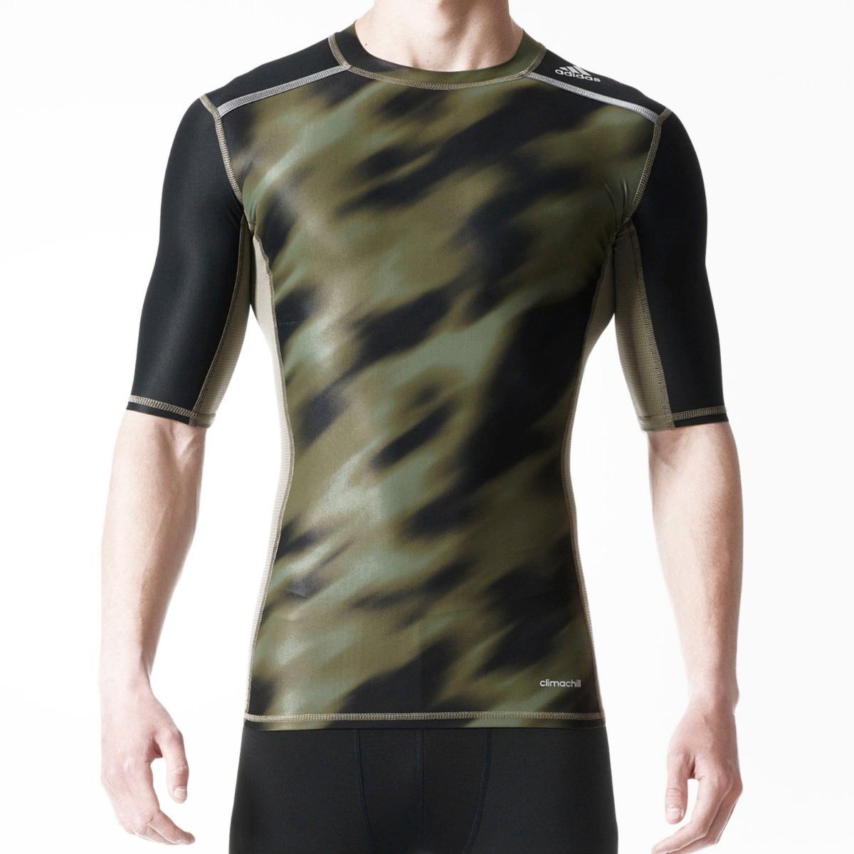 67588a2d45abe camiseta adidas compressão techfit uv 50+ base ss climalite. Carregando  zoom.
