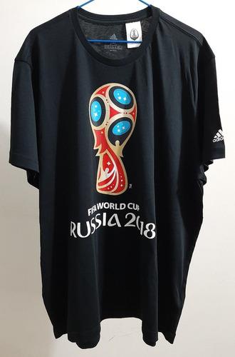camiseta adidas copa do mundo fifa rússia 2018 3g (2xl)