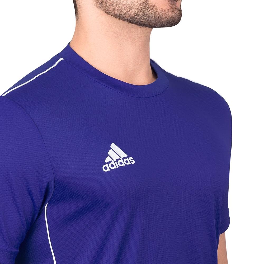 ... 8303a1fa022 Camiseta adidas Core 18 Azul Royal E Branca - R 59 6b7cc238be9fc