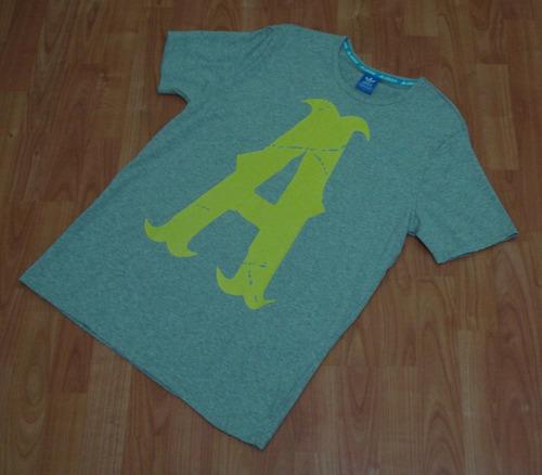 camiseta adidas de algodon con logo estampado