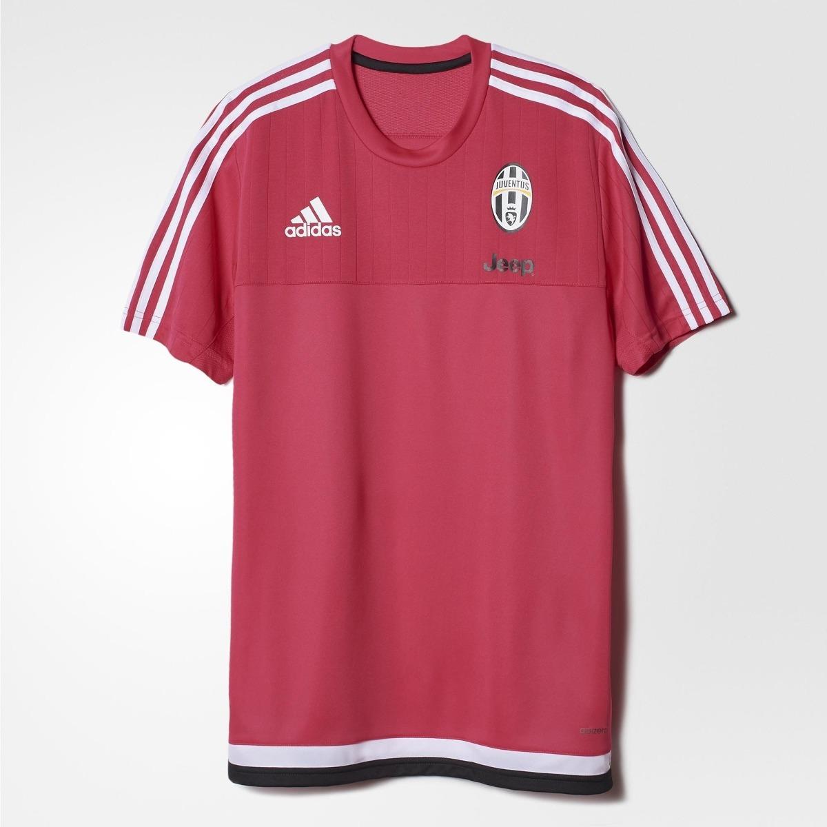 9bef876252290 camiseta adidas de treino juventus 2016 rosa original. Carregando zoom.