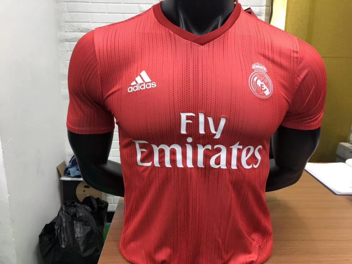 Camiseta adidas Equipo De Futbol Real Madrid Hombre Roja -   114.900 ... 1d14a64909984