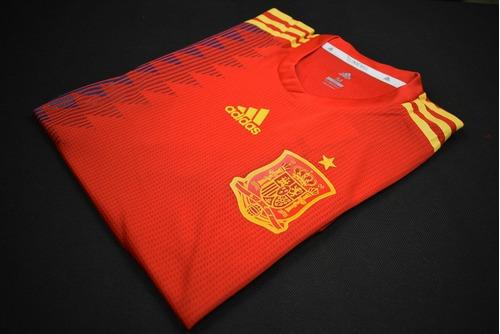 camiseta adidas españa mundial 2018 - versión jugador