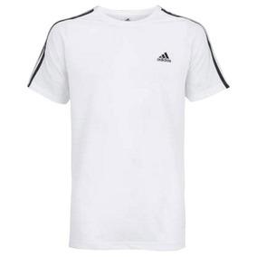 a9f9e650c3 Camiseta adidas Ess 3s Egb Tee Branca Original