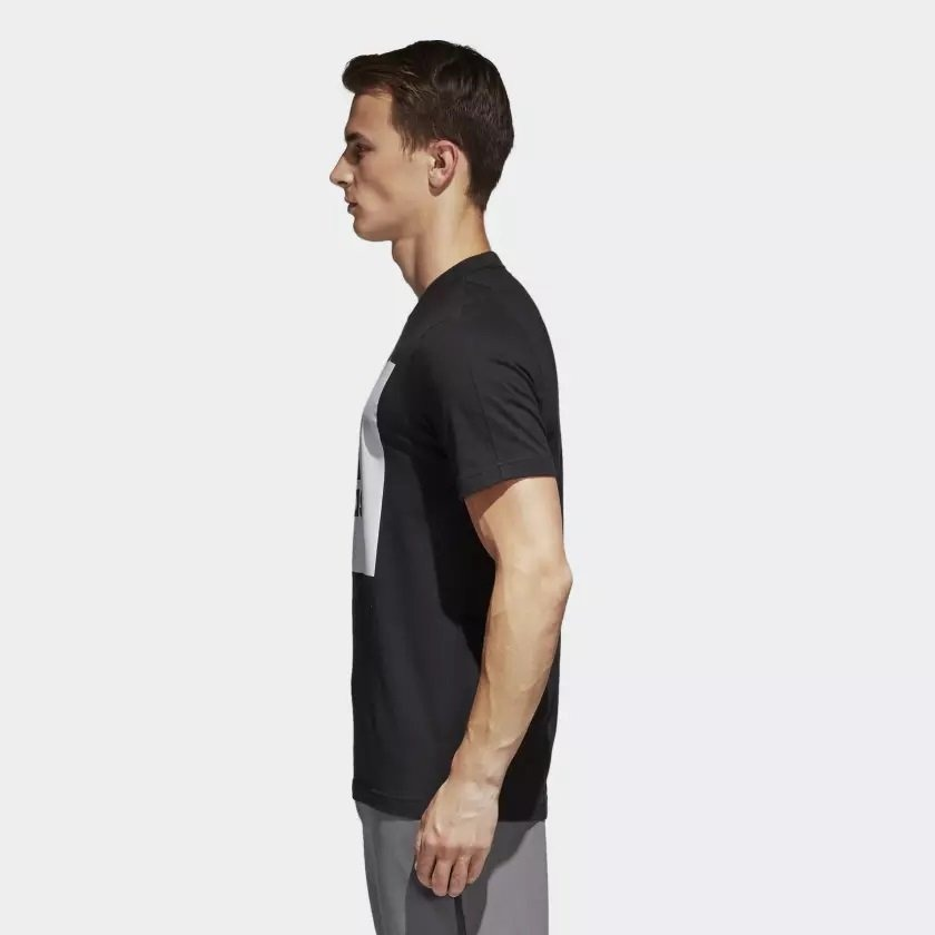 802bbbcf33 ... camiseta adidas ess big logo masculina s98724 - g - preto. Carregando  zoom.