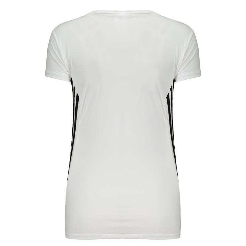 camiseta adidas ess clima 3s lw branca feminina. Carregando zoom. 6cfa6f2b4e376