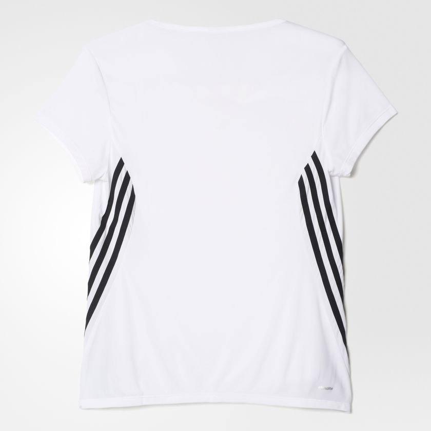 camiseta adidas ess clima 3s lw w feminina s87233 - g - bran. Carregando  zoom. 79ab14ce36d1d
