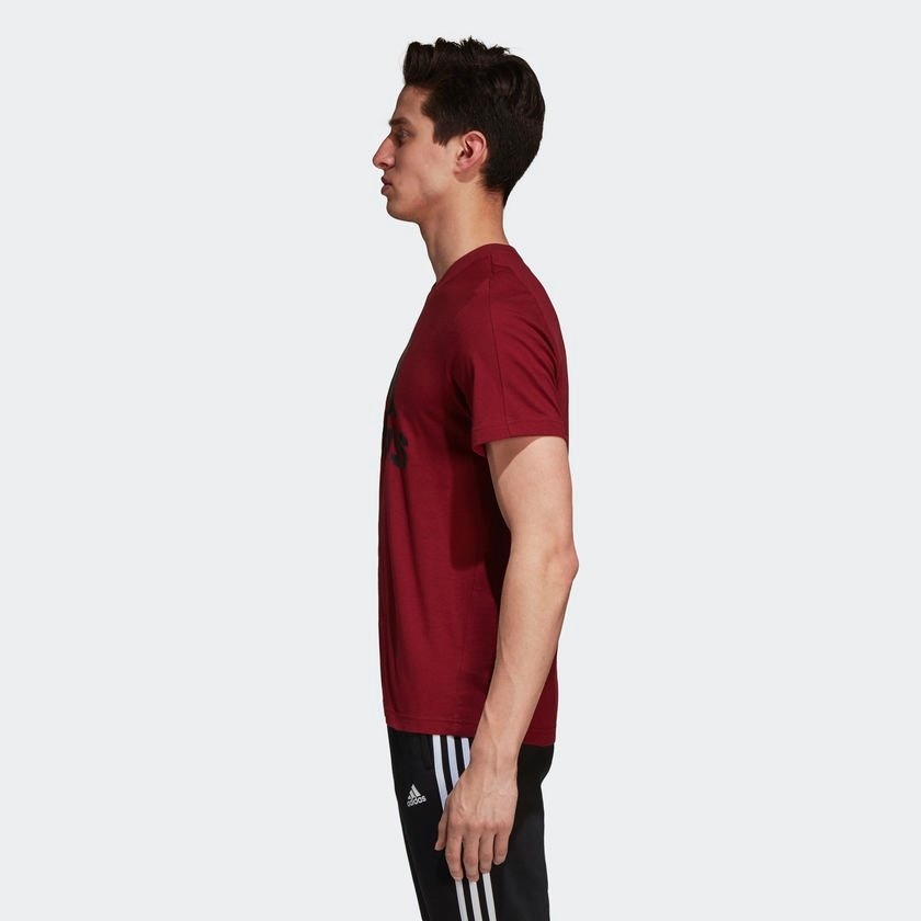 camiseta adidas ess linear tee masculina cz7512 - p - bordo. Carregando  zoom. 430f2c6cd9324